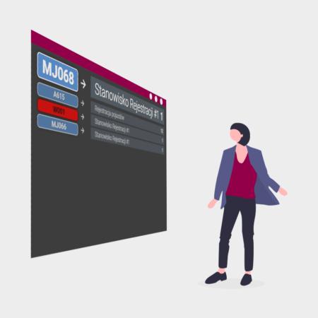 System kolejkowy - Wyświetlacz przywoławczy